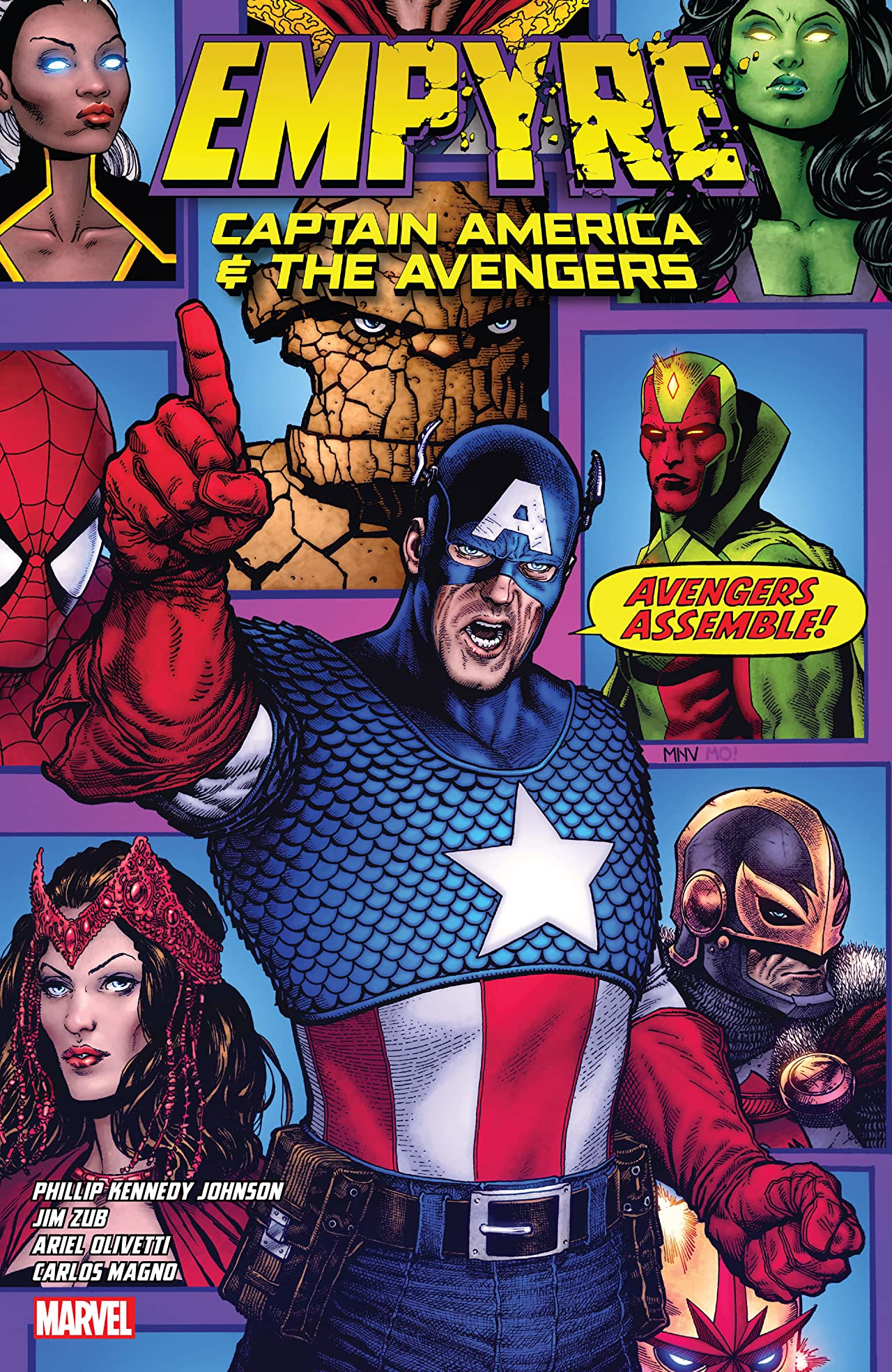 Empyre: Captain America & The Avengers (Trade Paperback)