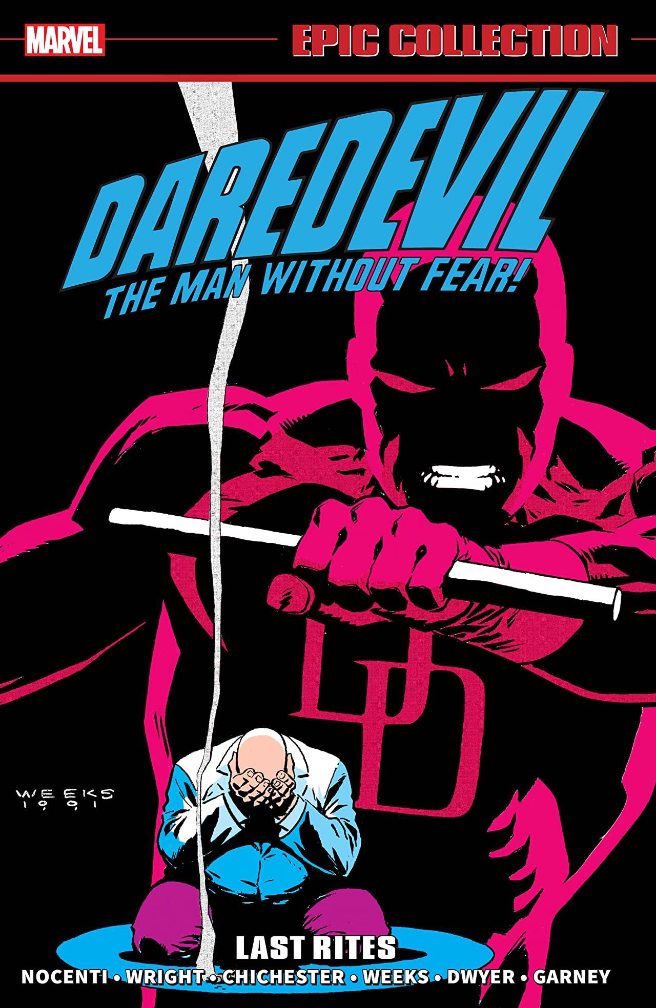 Daredevil Epic Collection: Last Rites (Trade Paperback)