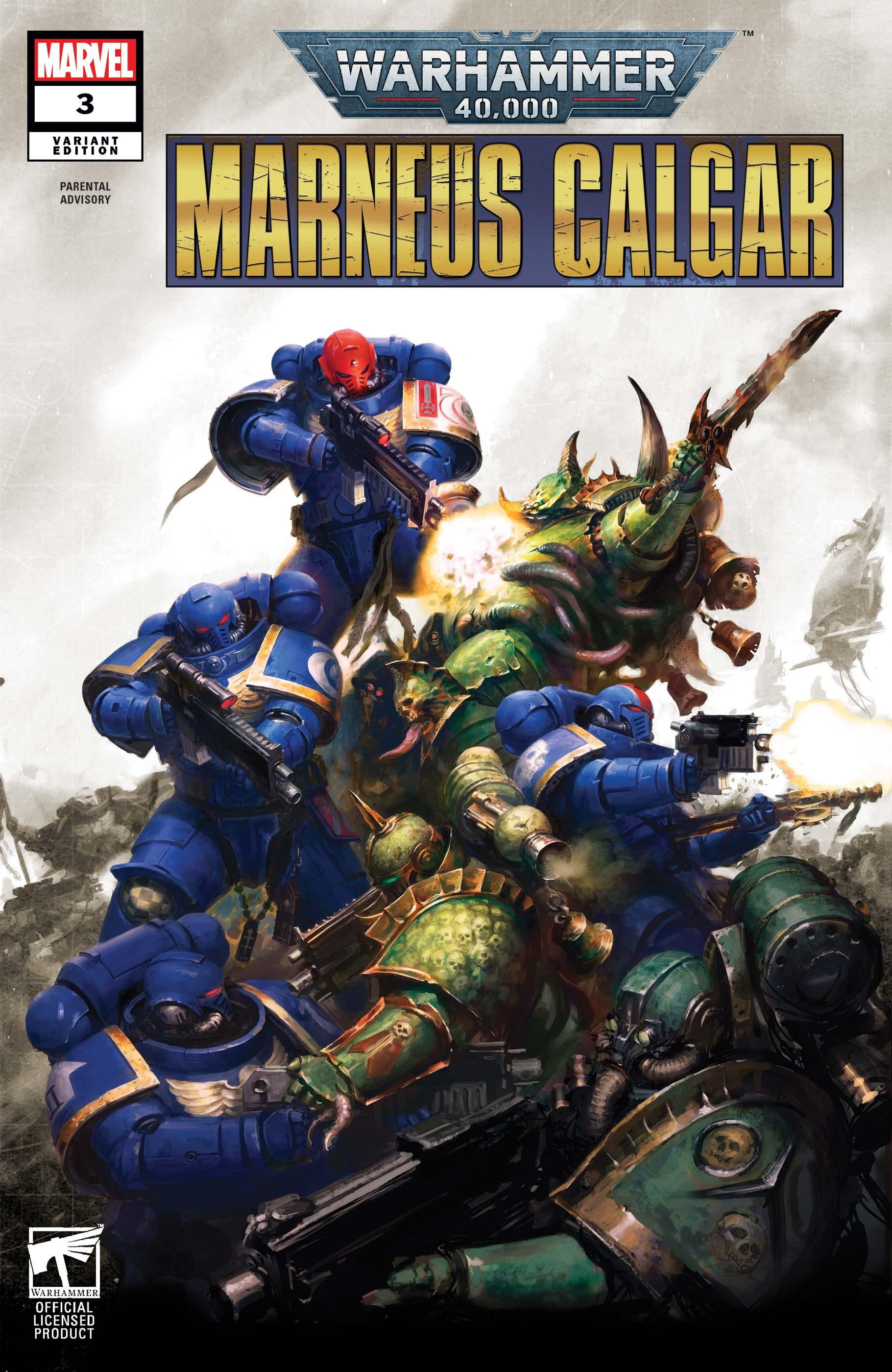 Warhammer 40,000: Marneus Calgar (2020) #3 (Variant)