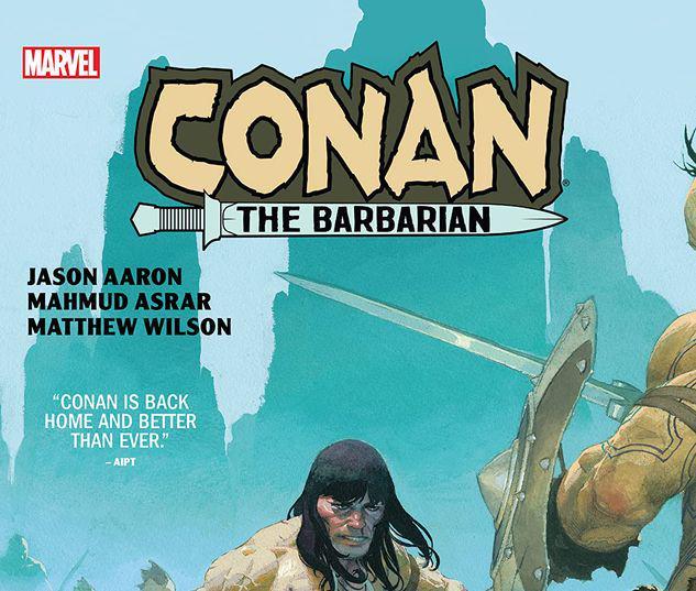 CONAN THE BARBARIAN BY AARON & ASRAR HC #1