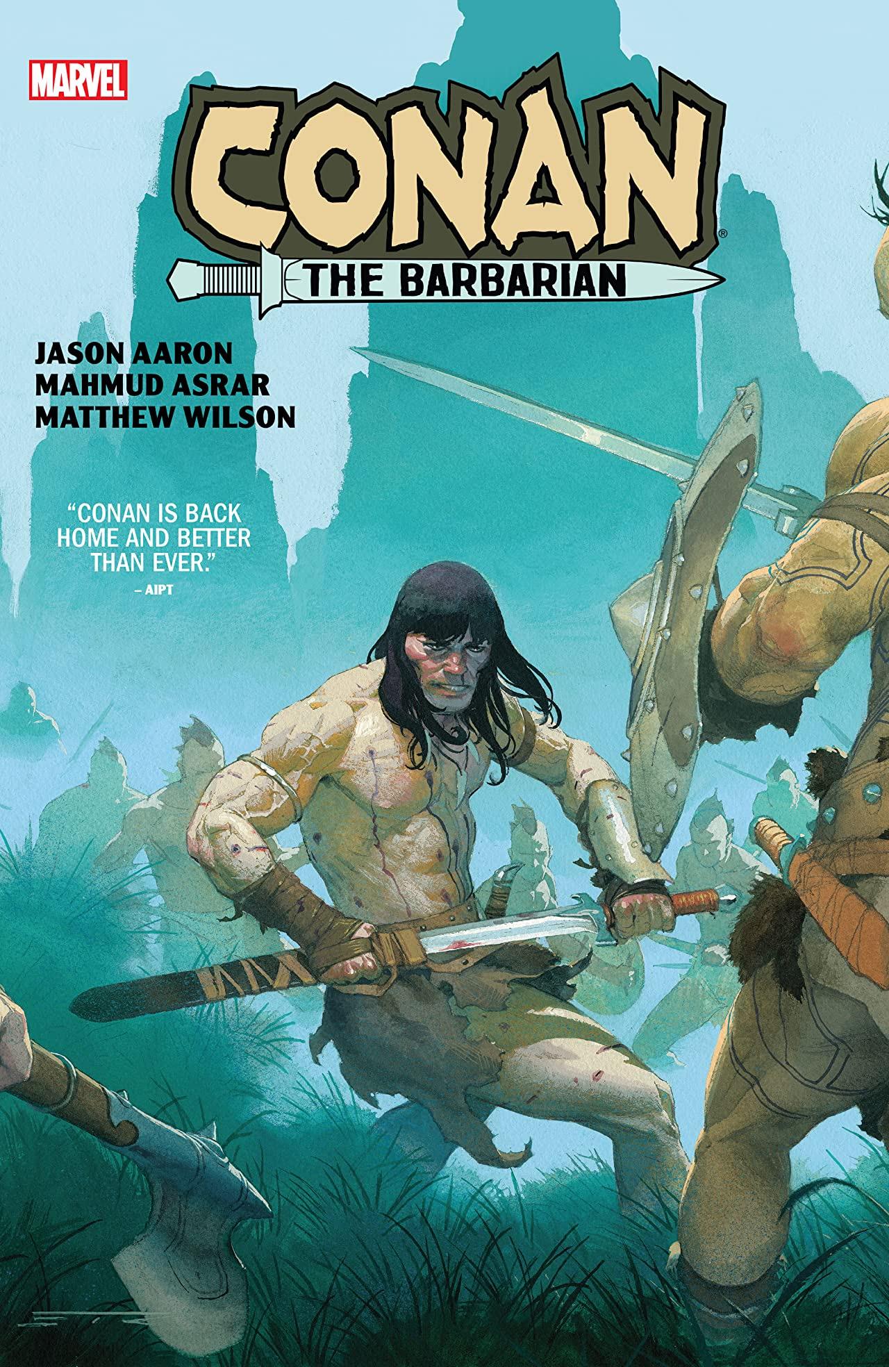 Conan The Barbarian by Aaron & Asrar (Hardcover)