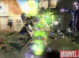 Magneto and Green Goblin in Marvel: Ultimate Alliance 2