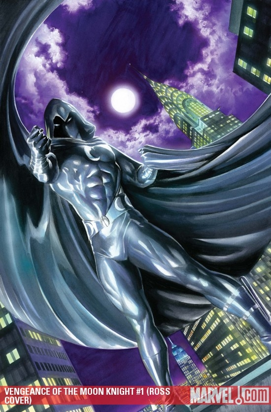 Vengeance of the Moon Knight (2009) #1 (ROSS COVER)