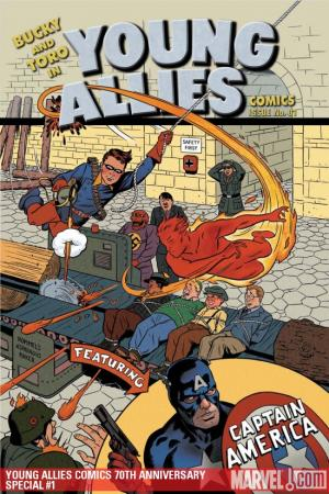 Young Allies Comics 70th Anniversary Special (2009) #1