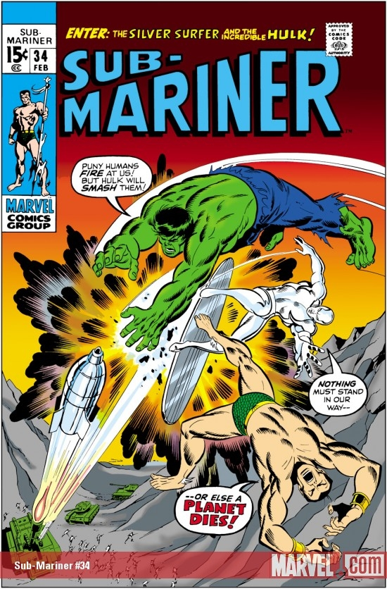 Sub-Mariner (1968) #34