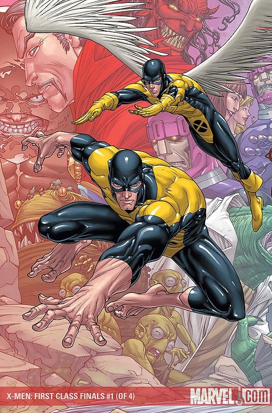 X-Men: First Class Finals (2009) #1