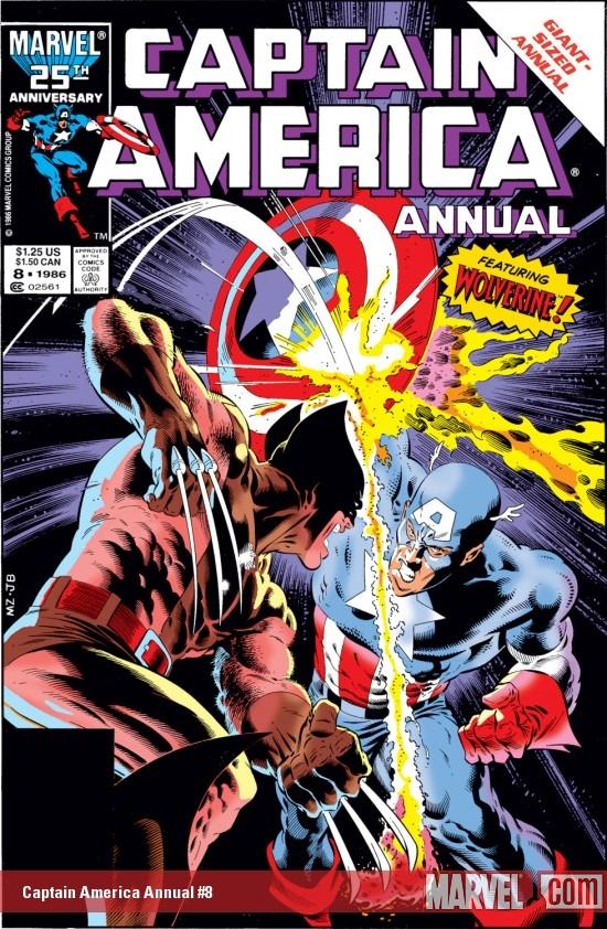 Captain America Annual (1971) #8