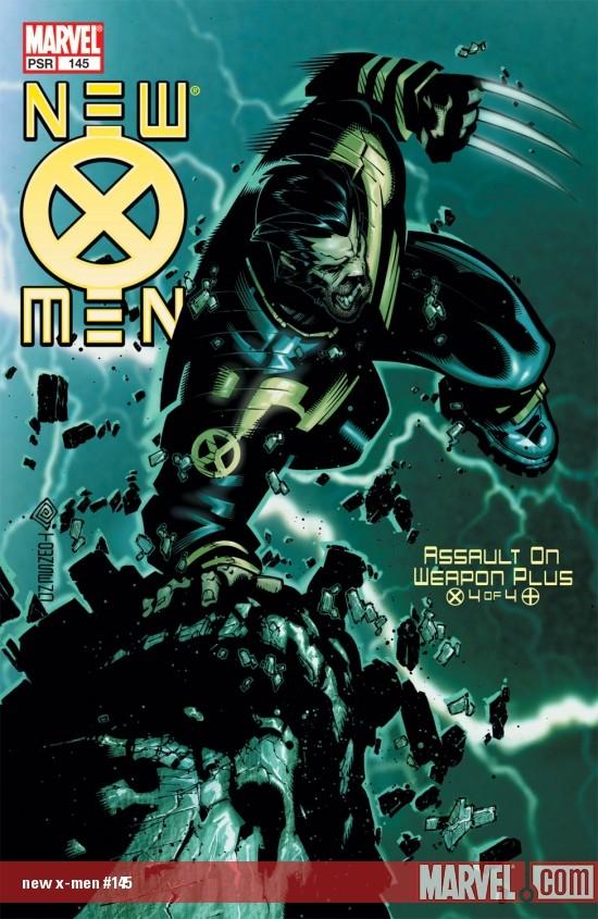 New X-Men (2001) #145