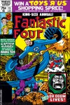 FANTASTIC FOUR ANNUAL #15 COVER