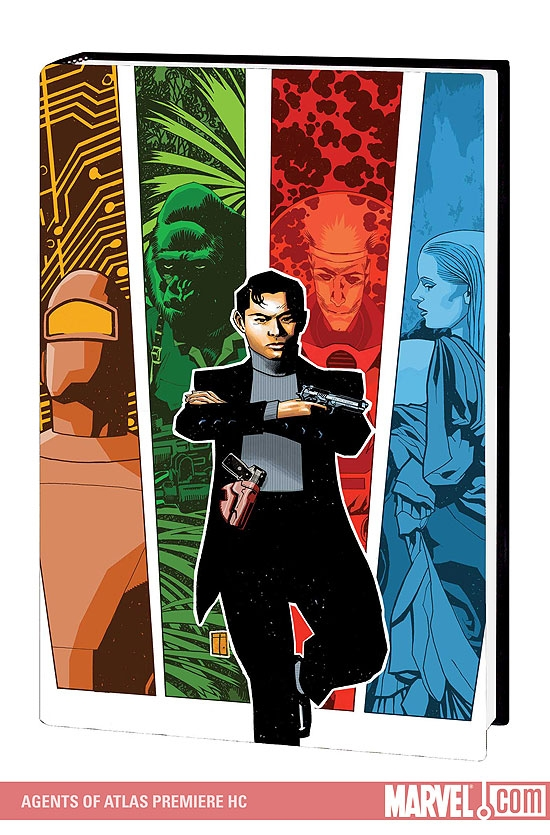 AGENTS OF ATLAS PREMIERE HC (Hardcover)