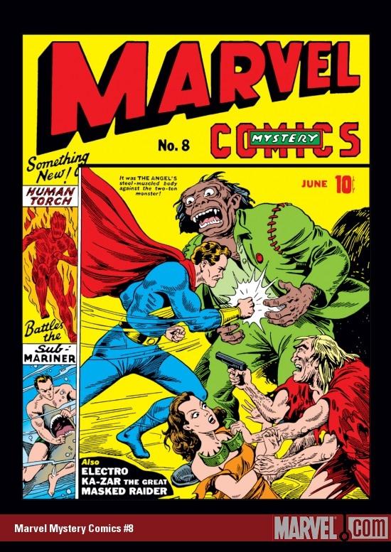 Marvel Mystery Comics (1939) #8