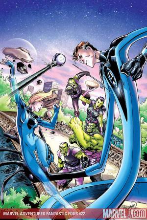 Marvel Adventures Fantastic Four #22