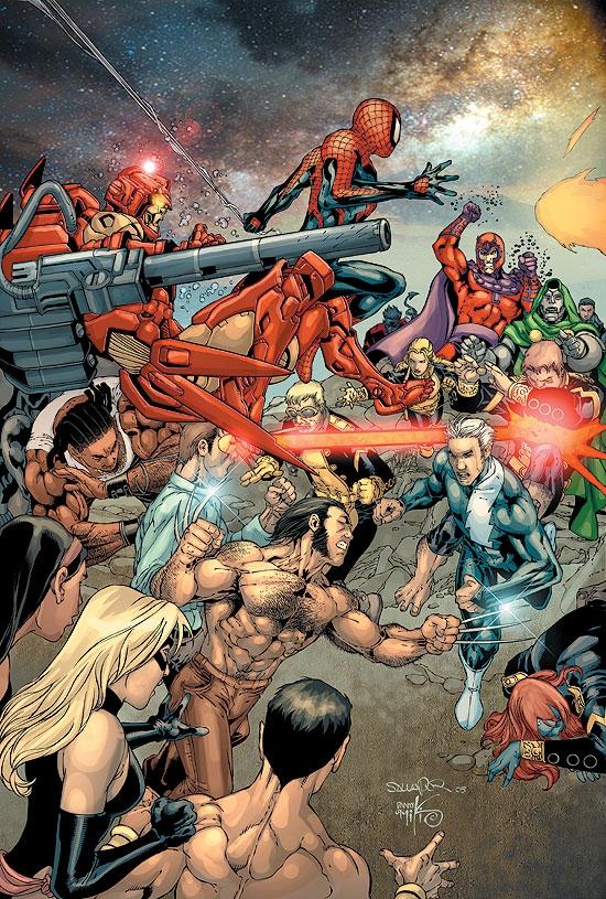 House of M #7 Variant A Marvel 2005 VF