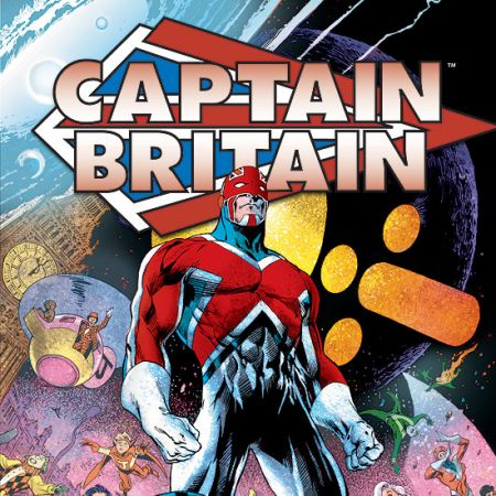 CAPTAIN BRITAIN VOL. 1 TPB COVER