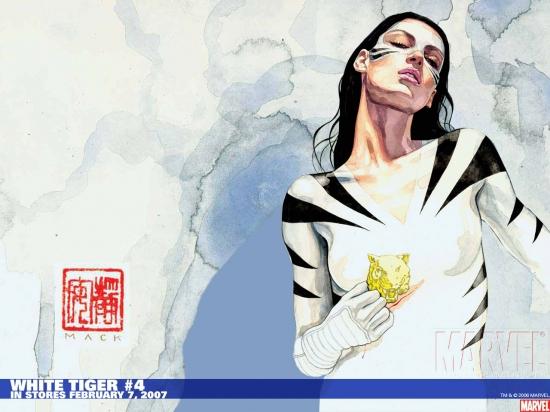 White Tiger (2006) #4 Wallpaper