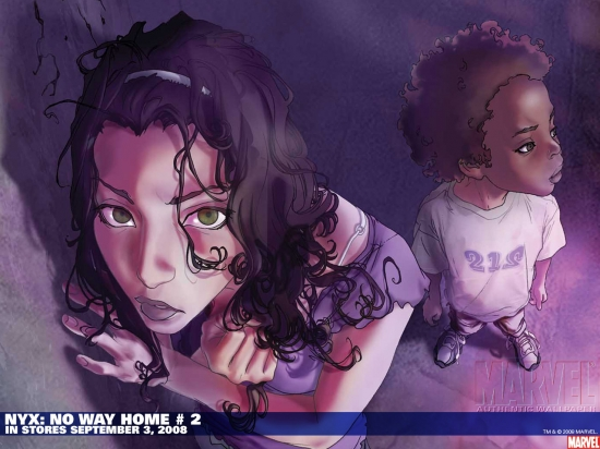 NYX: No Way Home (2008) #2 Wallpaper