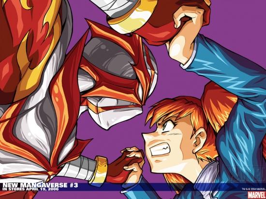 New Mangaverse (2006) #3 Wallpaper