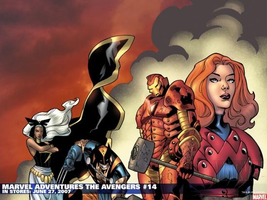 Marvel Adventures the Avengers (2006) #14 Wallpaper