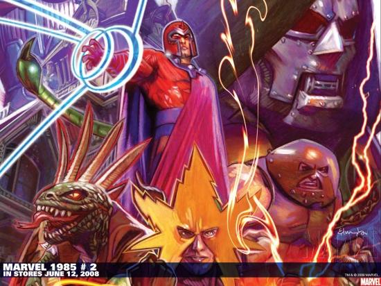 Marvel 1985 (2008) #2 Wallpaper
