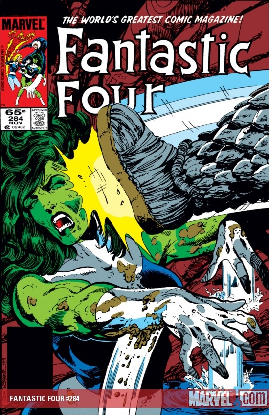 Fantastic Four (1961) #284