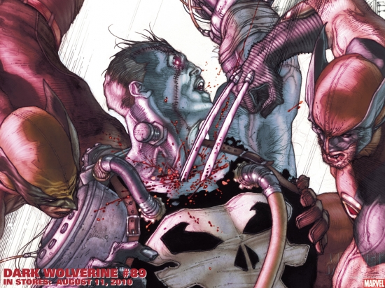 Dark Wolverine (2009) #89 Wallpaper