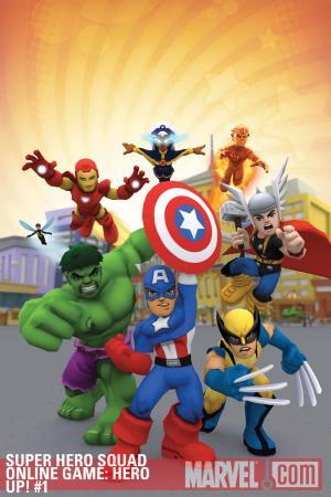 Super Hero Squad Online Game: Hero Up! (2011) #1