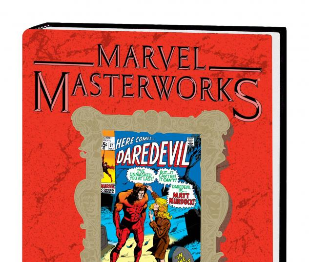 MARVEL MASTERWORKS: DAREDEVIL VOL. 6 HC dm variant cover