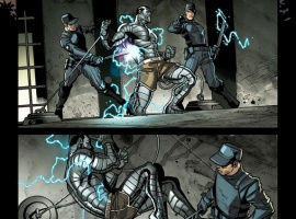 Ultimate Comics X-Men #1 preview art by Paco Medina