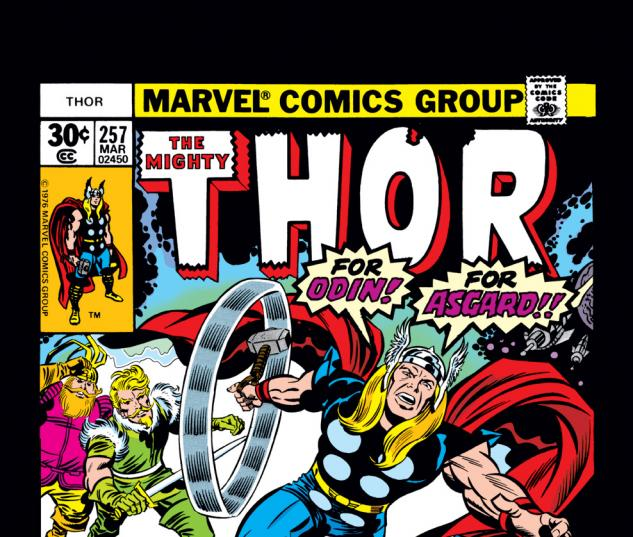 Thor (1966) #257 Cover