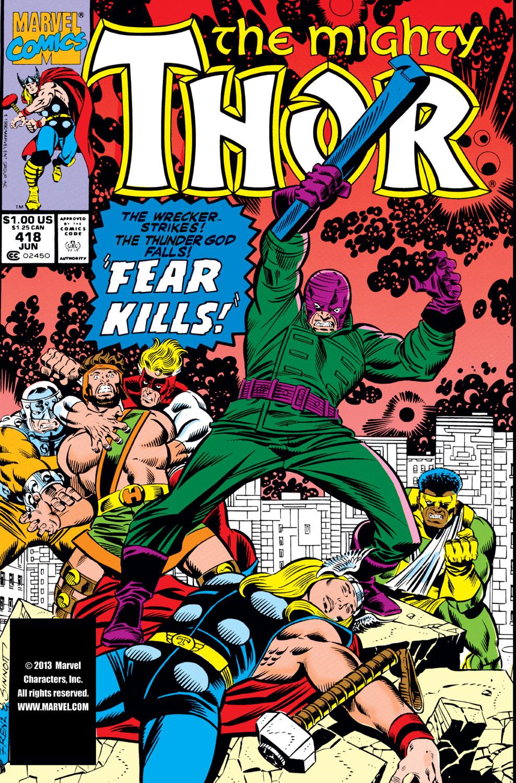 Thor (1966) #418