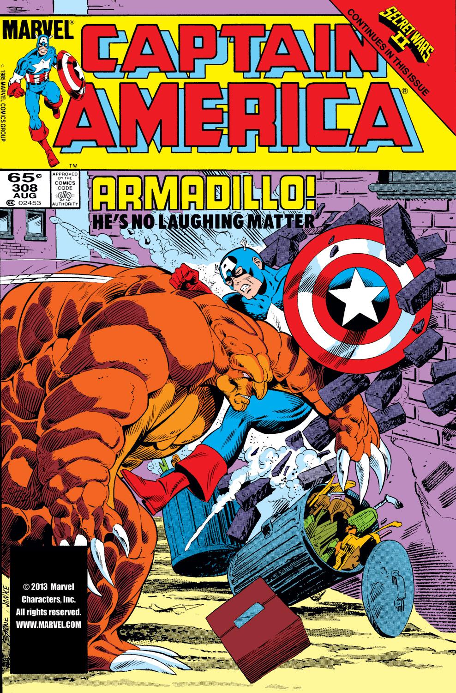 Captain America (1968) #308
