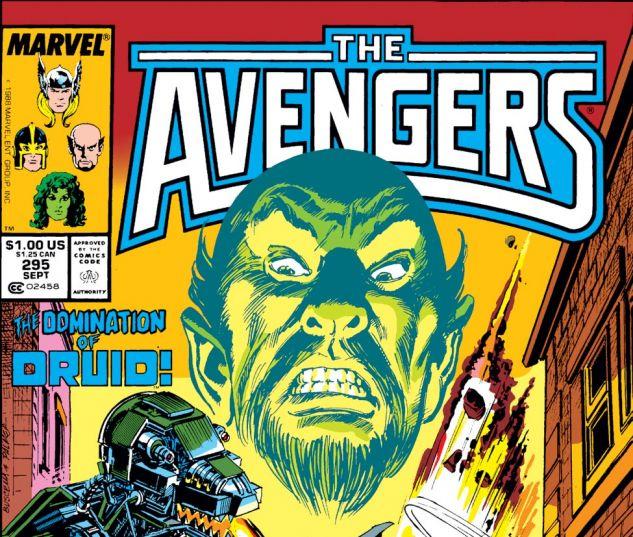 Avengers (1963) #295 Cover