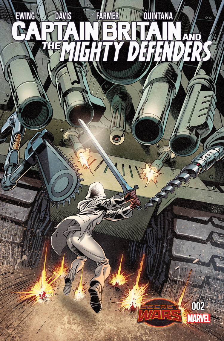 Captain Britain and the Mighty Defenders (2015) #2