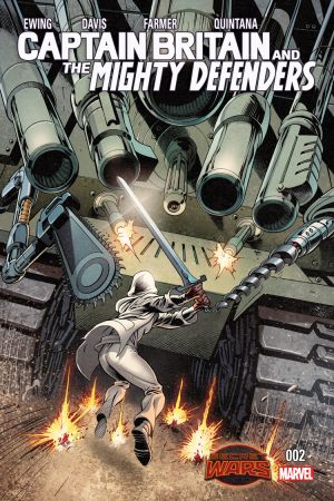 Captain Britain and the Mighty Defenders #2