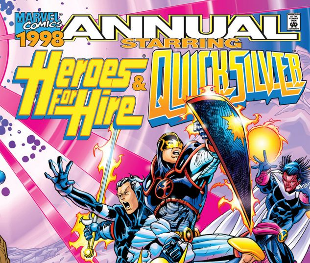 cover to Heroes for Hire/Quicksilver (1998) #1