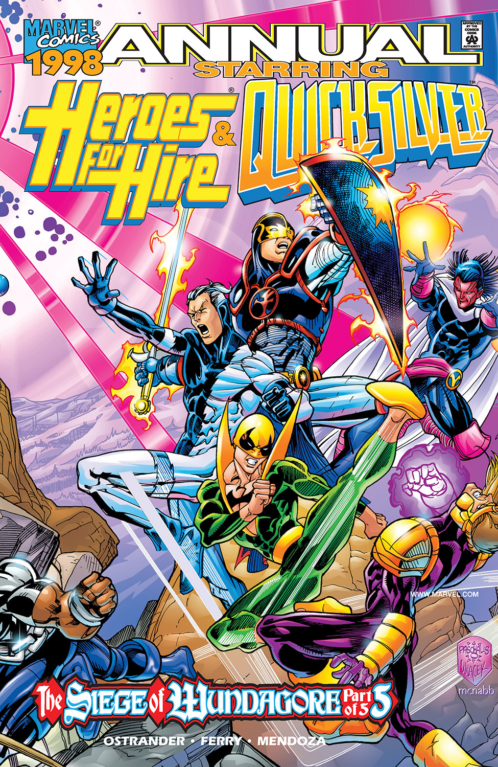 Heroes for Hire/Quicksilver Annual (1998) #1