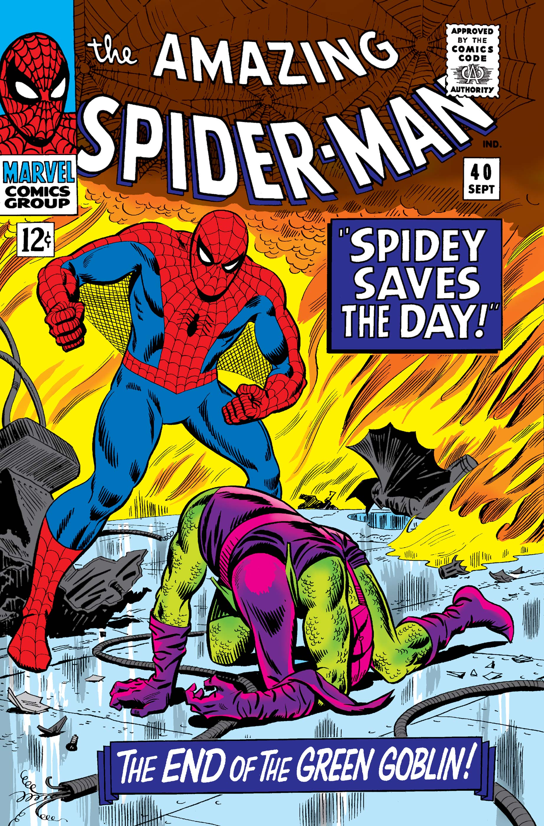 The Amazing Spider-Man (1963) #40