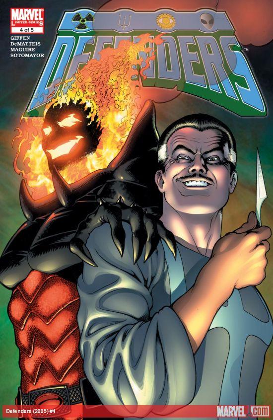 Defenders (2005) #4