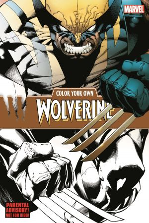 Color Your Own Wolverine (Trade Paperback)