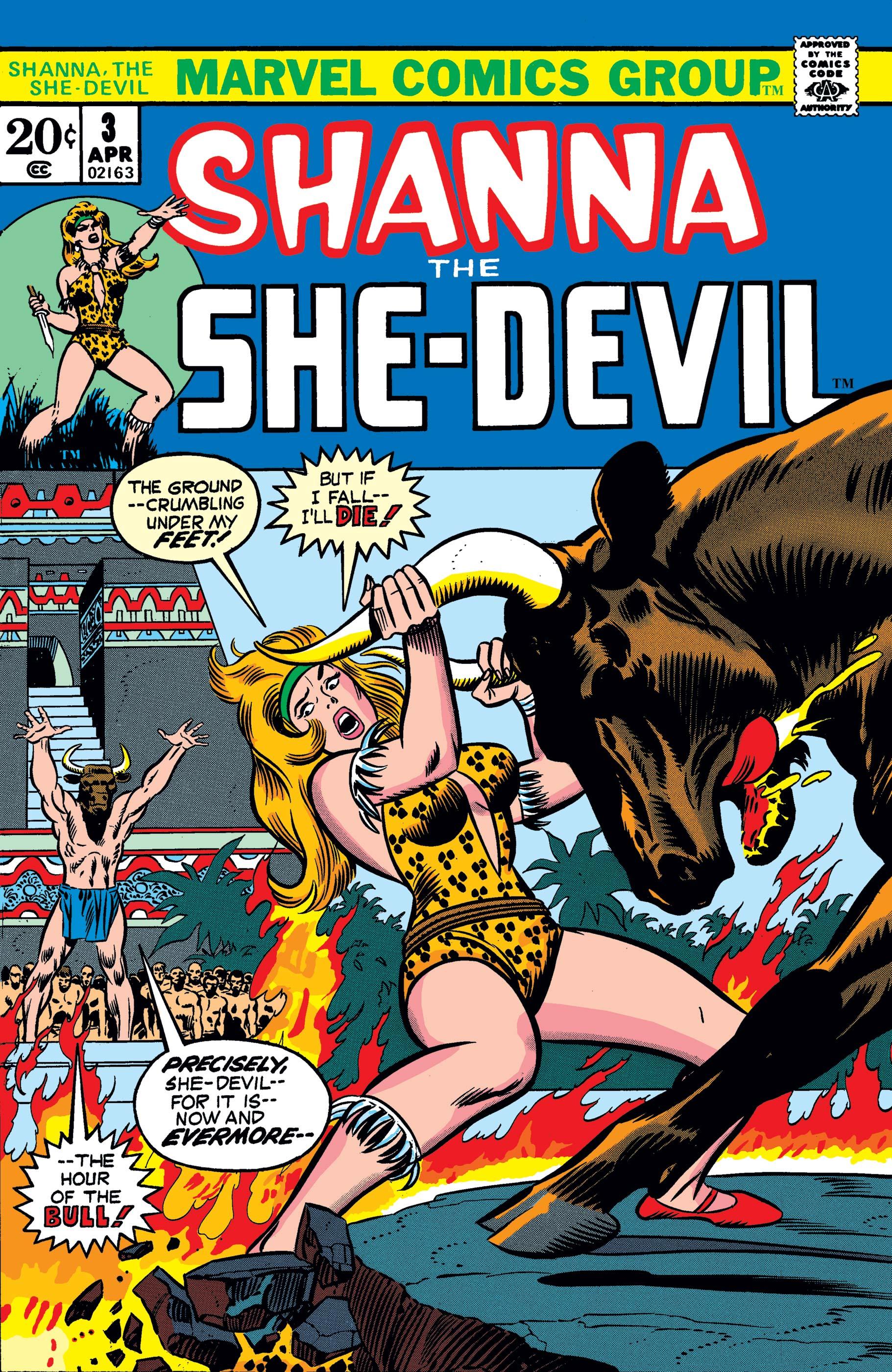Shanna the She-Devil (1972) #3