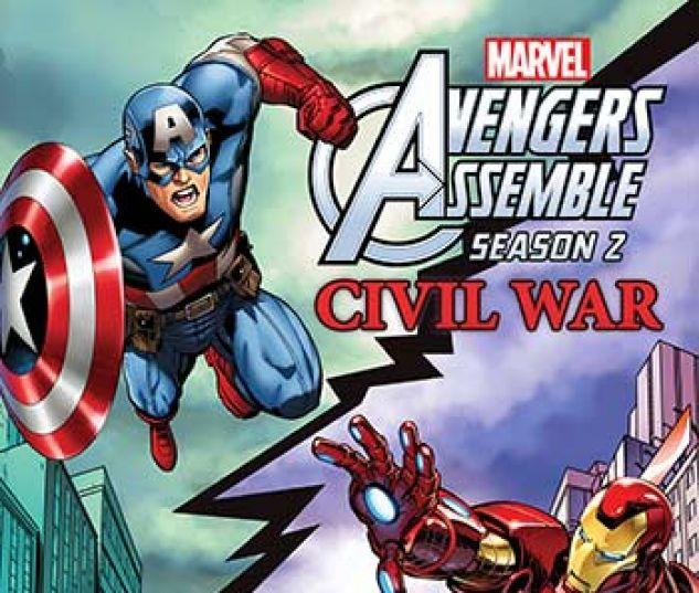 cover from Marvel Universe Avengers Assemble: Civil War (Digital Comic) (2017) #2