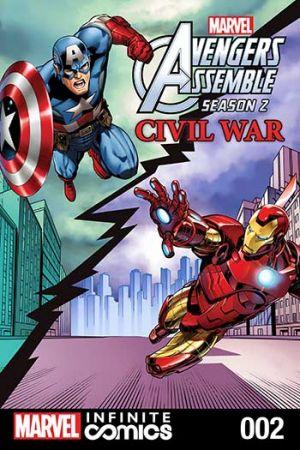 Marvel Universe Avengers Assemble: Civil War (2017) #2