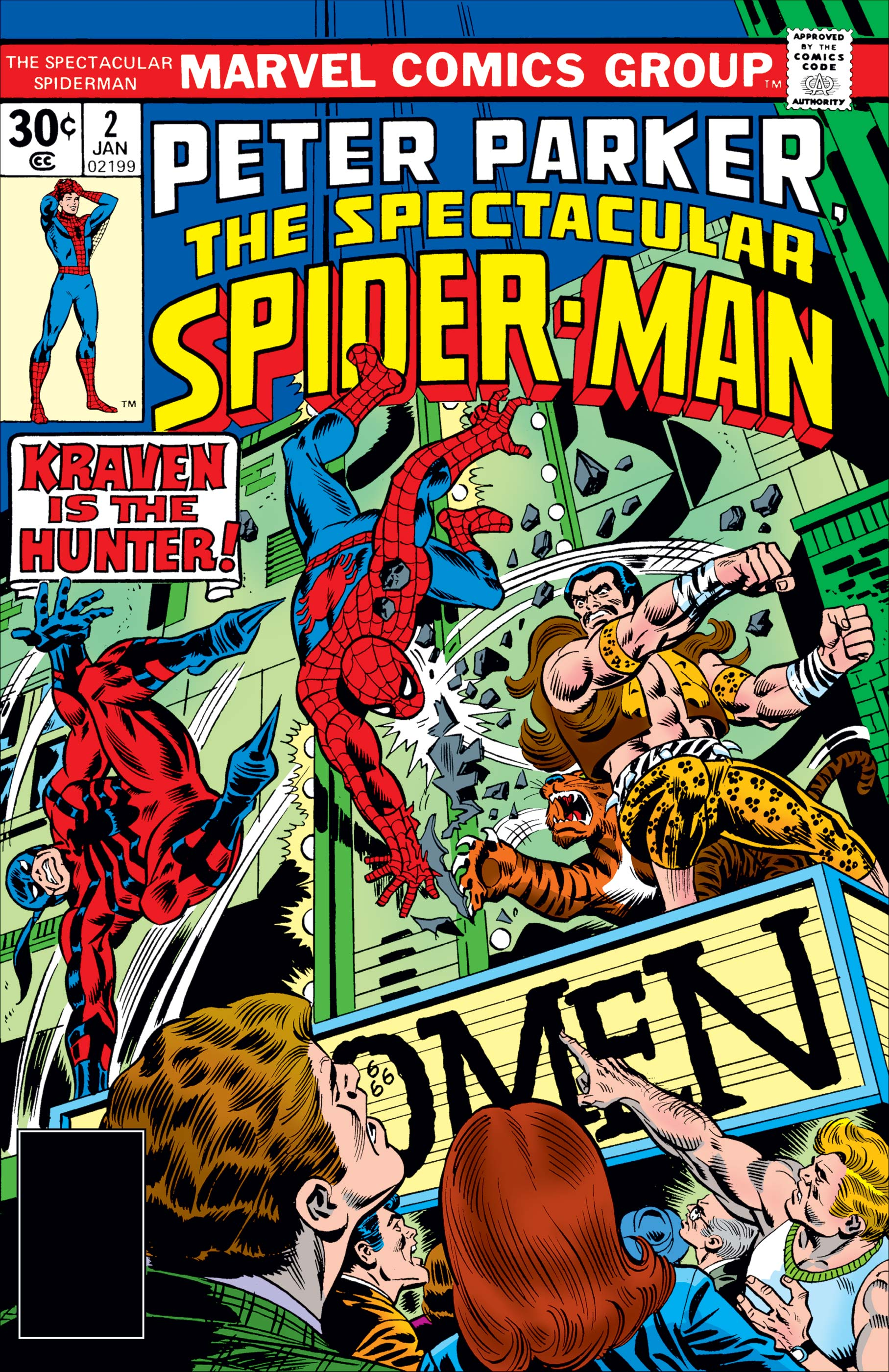 Peter Parker, the Spectacular Spider-Man (1976) #2