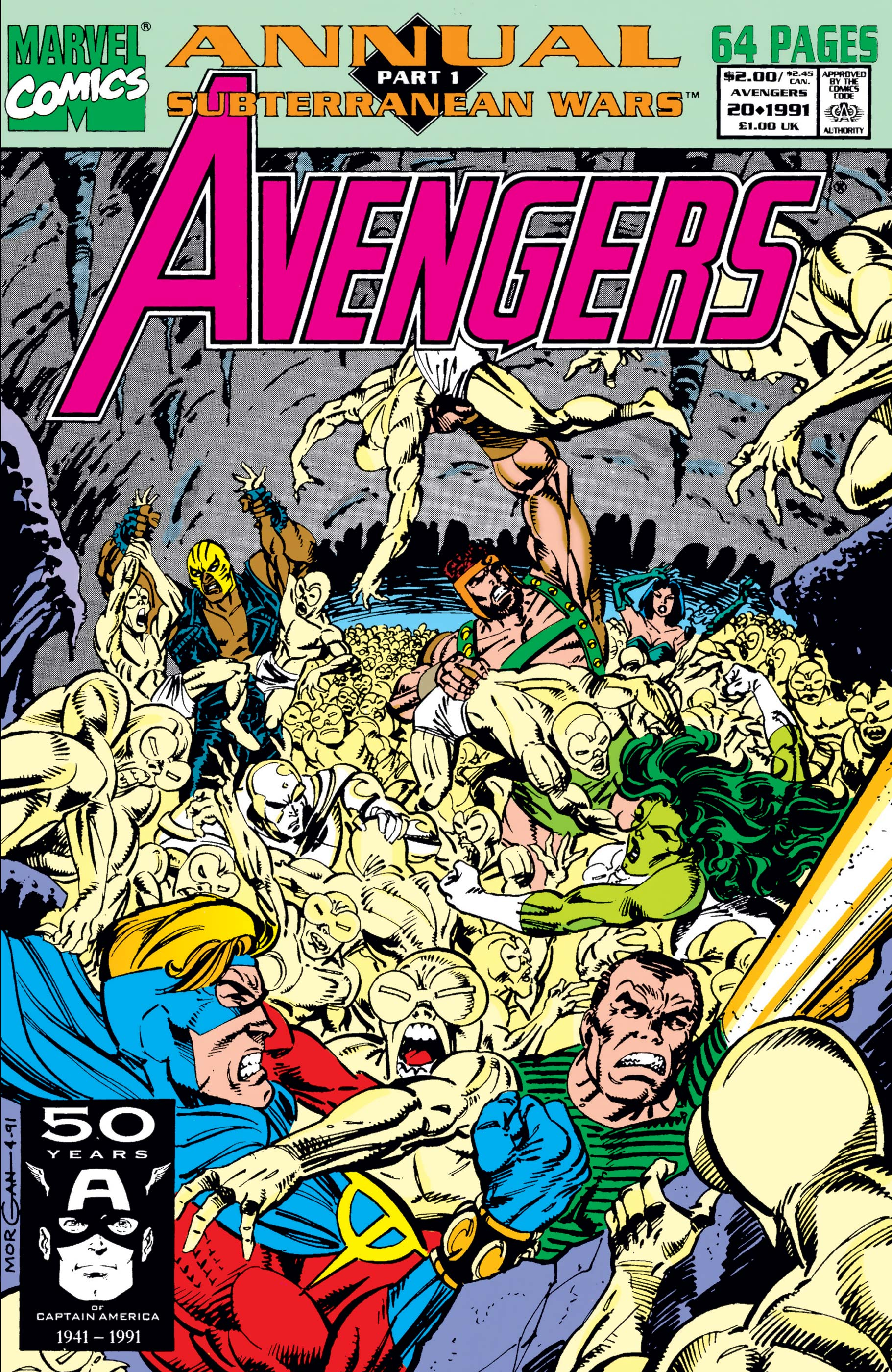 Avengers Annual (1967) #20