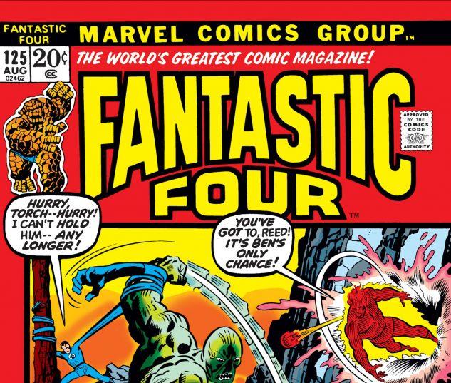 FANTASTIC FOUR (1961) #125
