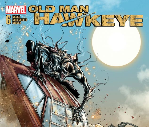 cover from Old Man Hawkeye (2018) #6