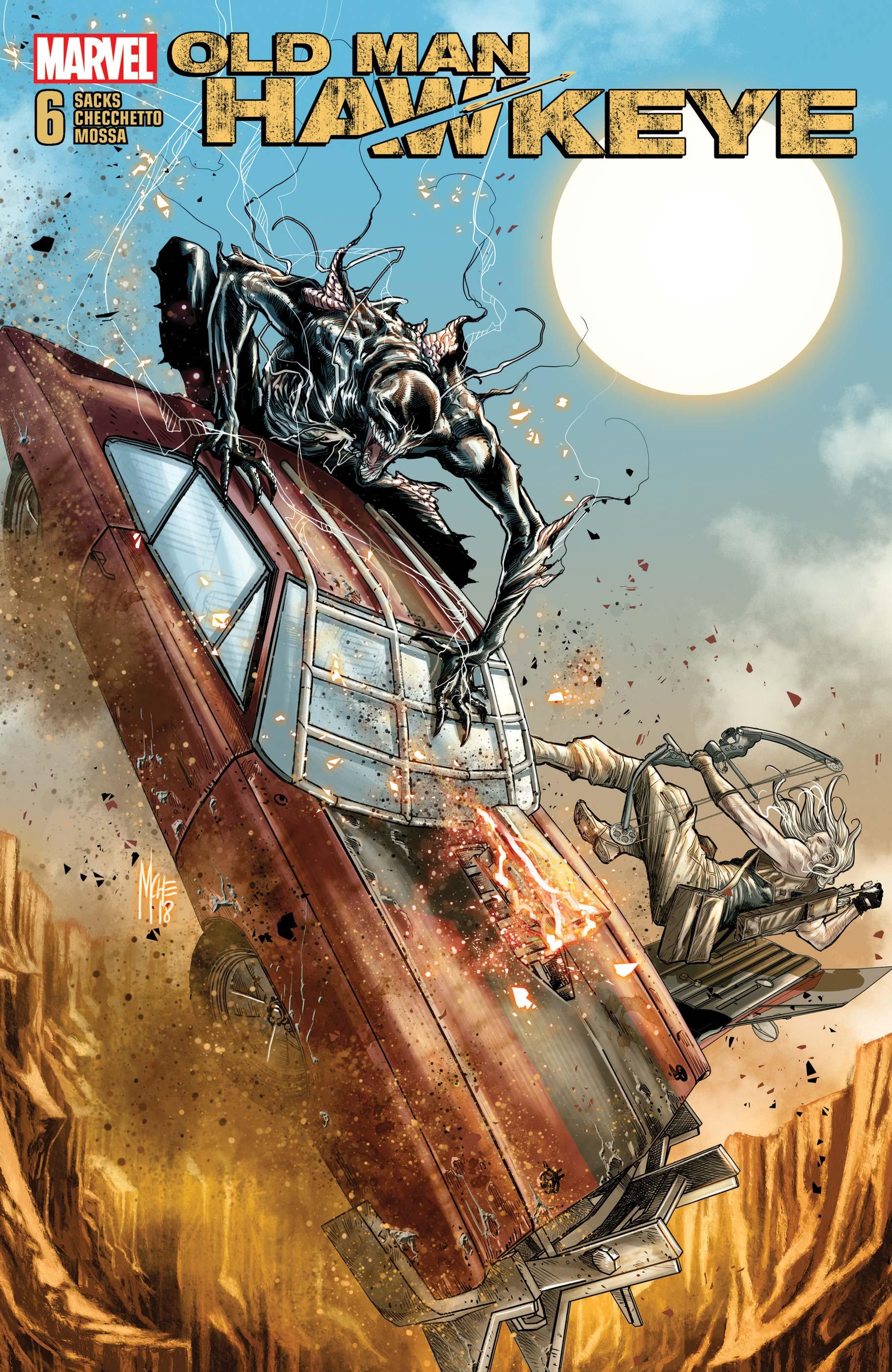 Old Man Hawkeye (2018) #6
