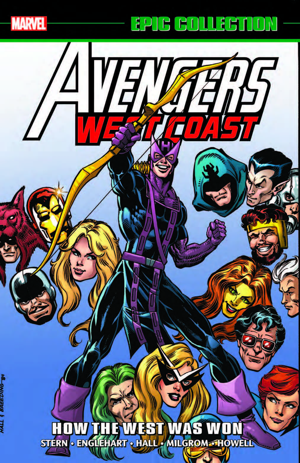 AVENGERS WEST COAST EPIC COLLECTION: HOW THE WEST WAS WON TPB (Trade Paperback)