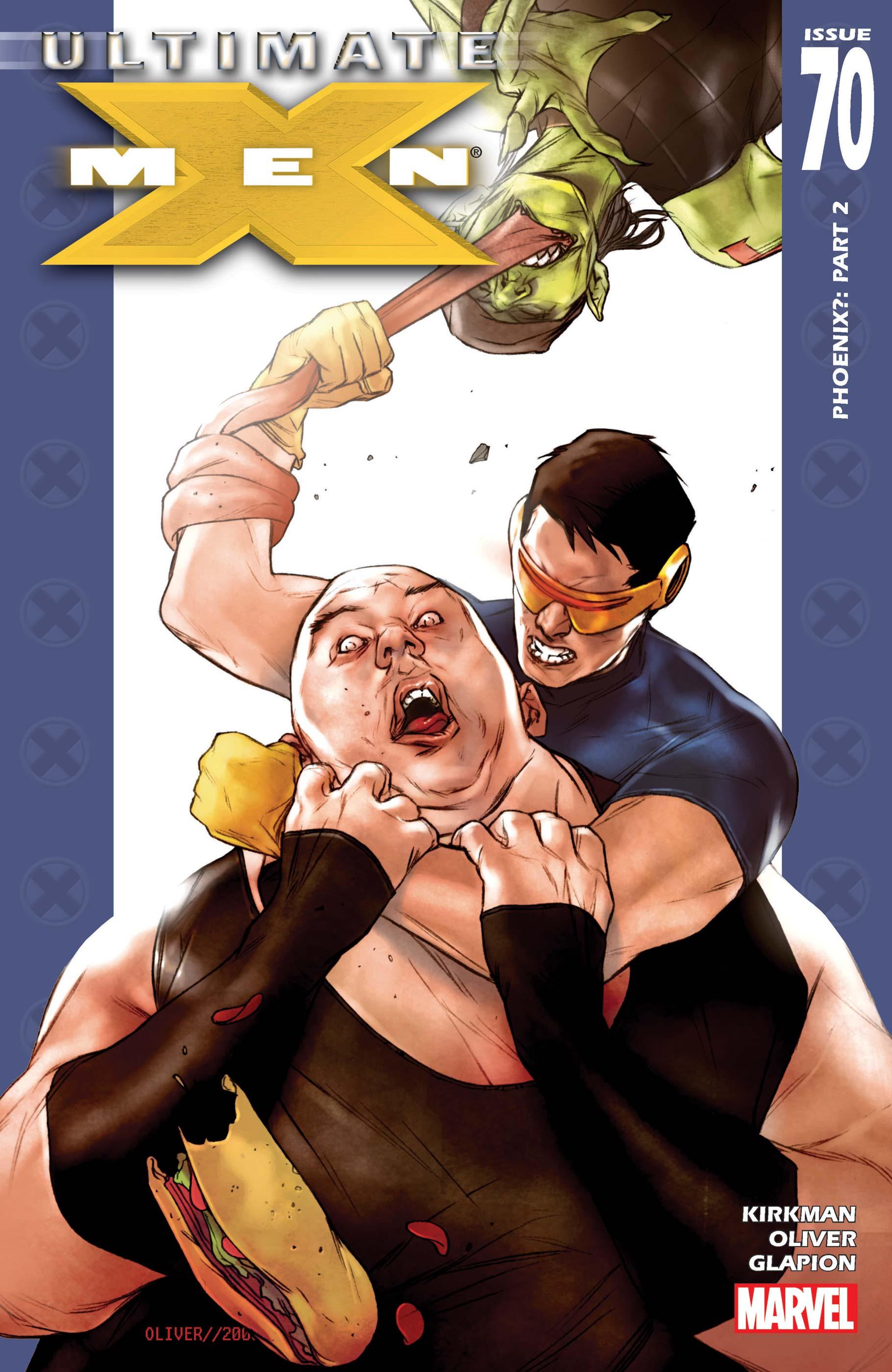 Ultimate X-Men (2001) #70