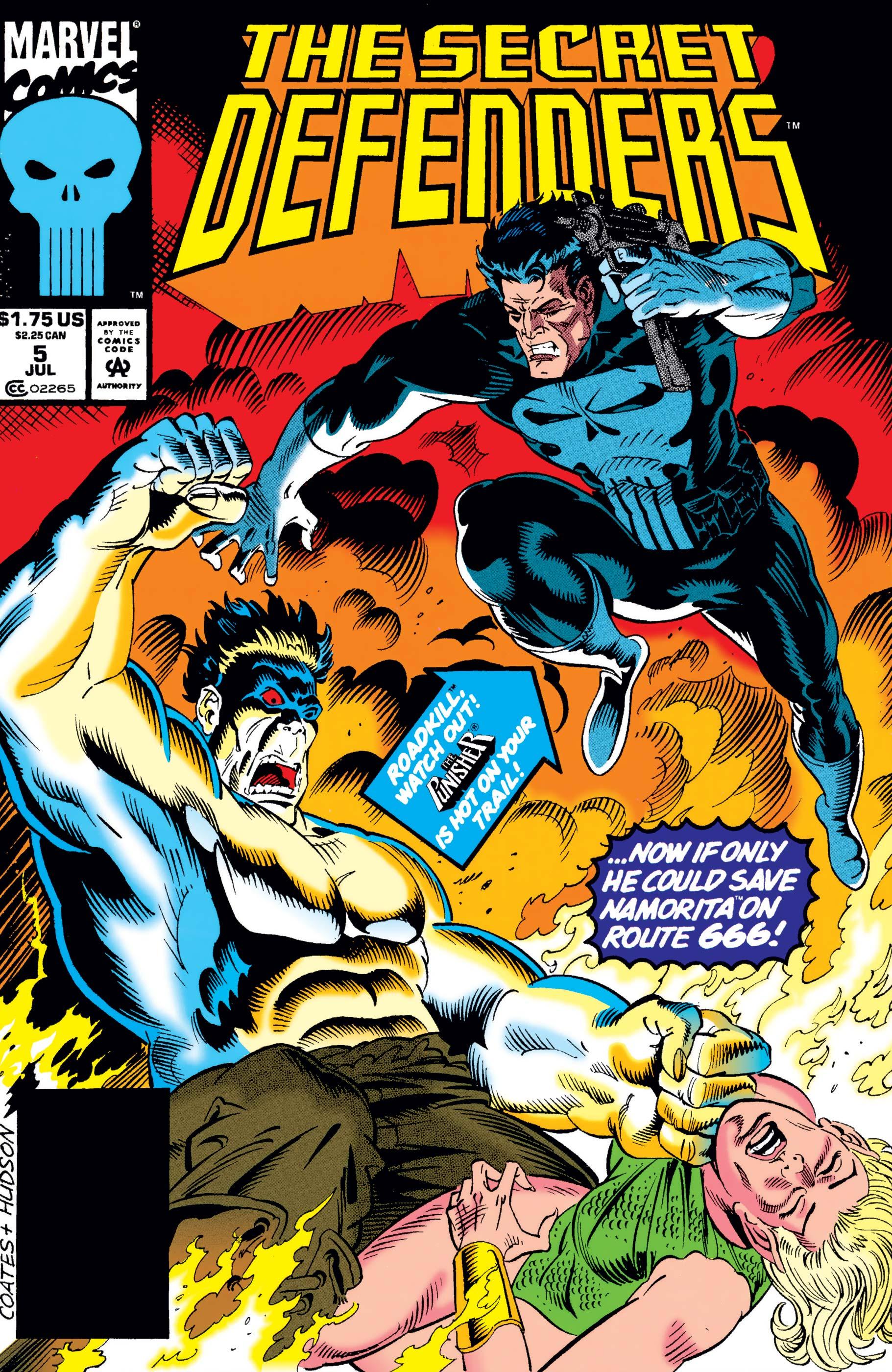 Secret Defenders (1993) #5